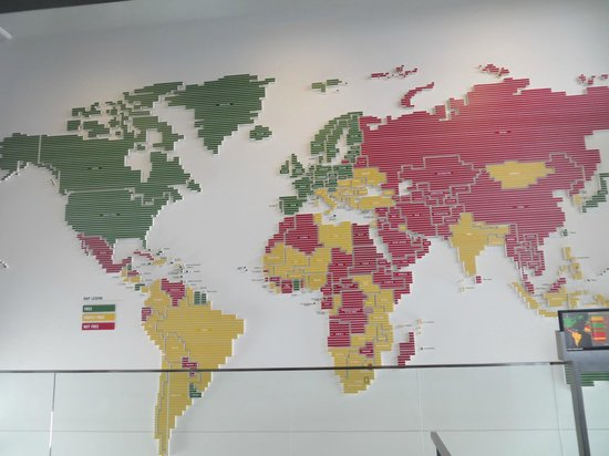 นิวเซียม: Map of countries based on freedom of press