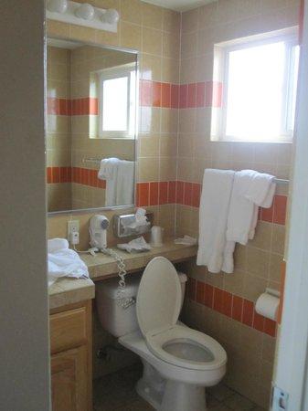 Best Western Pine Tree Motel: Bathroom