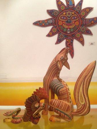 Paquime Gallery Huichol Art, Oaxaca Alebrijes
