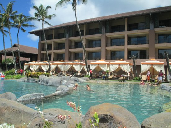 Sheraton Kauai Resort View Of Pool Bungalows Hotel