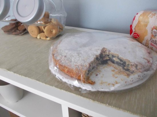 B & B Minotti : torta casalinga a colazione