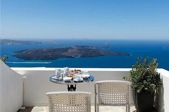 Azul Hotel: Vue Terrasse