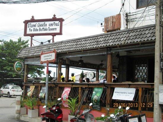 Ye Olde Buffalo Tavern: Buffalo Bill's on the side