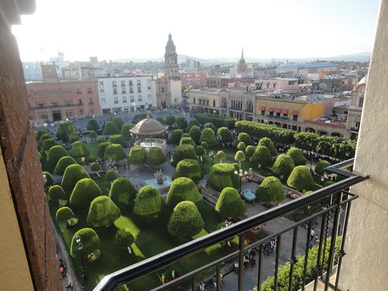 Ramada Plaza Leon: View from Balcony of Central Square