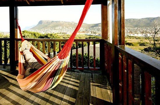 Clovelly Lodge Guest Apartments : All units have a private deck