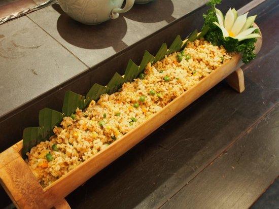 Royale Vietnam: Steam Lotus Seed Rice