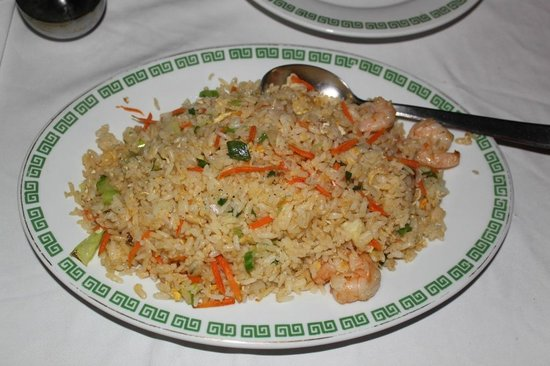 Peking : PRAWNS FRIED RICE