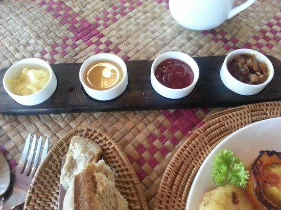 Bopha Siem Reap Boutique Hotel: breakfast jams