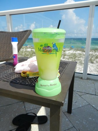 Margaritaville Beach Hotel: One of the drinks from the Tiki Bar at the pool.