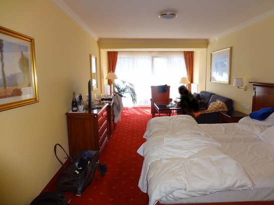 Krumers Post Hotel & Spa: Suite 319