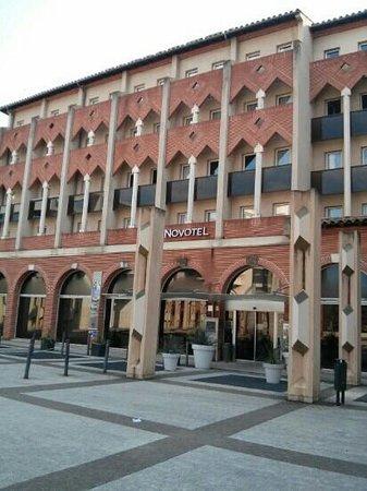 Novotel Toulouse Centre Compans Caffarelli : Entrada principal