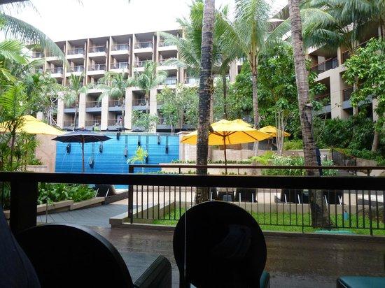 Avista Phuket Resort & Spa: View from restaurant