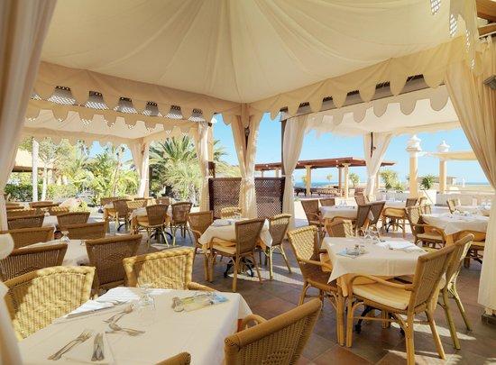 Iberostar Fuerteventura Palace: Restaurant Terrace