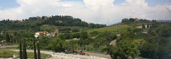 Conference Florentia Hotel: View of Chianti Hills from room