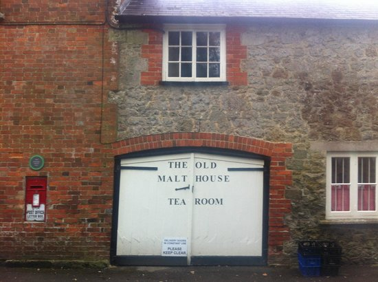 The Old Malthouse Tea Rooms: side of tea room for disabled access