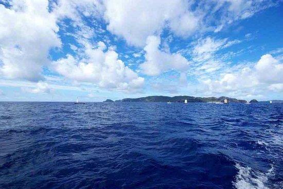 Zamami-jima Island : Looking Back Leaving Zamami-jima