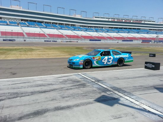 Richard Petty Driving Experience: In the car ready to live my dream