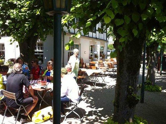 Schaumburger Hof: Biergarten