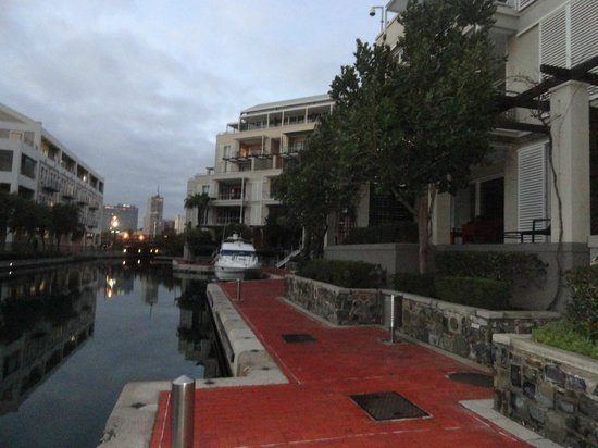 Waterfront Village: Views from the sitout of the Room