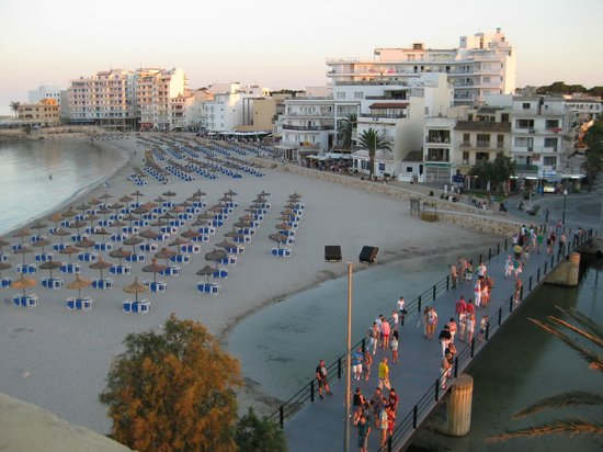 Hotel Peymar : Imagen desde el solarium en la terraza