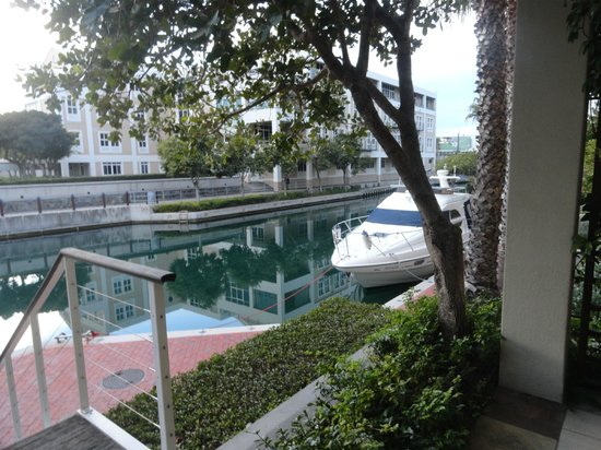 Waterfront Village: View from room