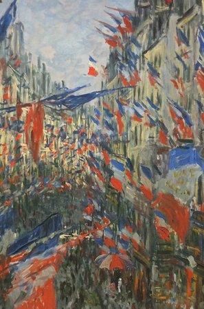 Musée des Beaux-Arts de Rouen : Rue Saint-Denis by Monet