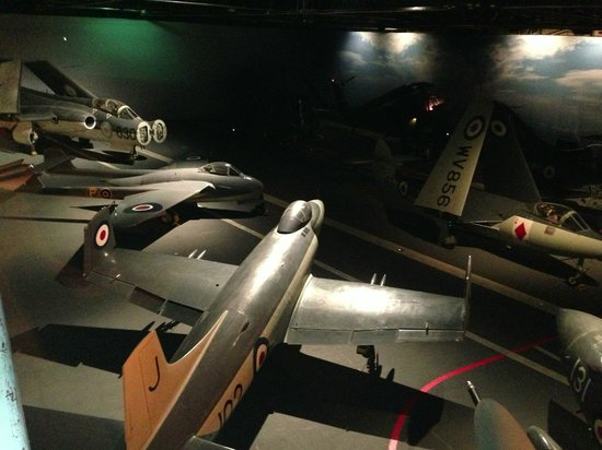 Fleet Air Arm Museum : The deck of the Ark Royal