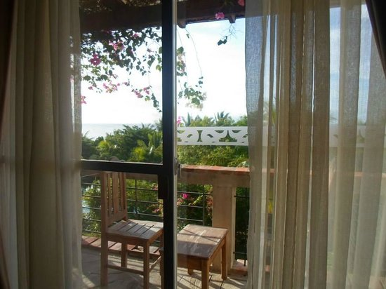 Amarela Resort: each room has a private balcony with a view outside