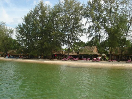 Otres Beach Bungalows Picture Of