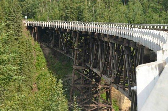 the Kiskatinaw Bridge