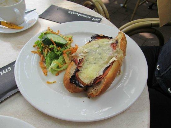 Sjampetter: Sandwich