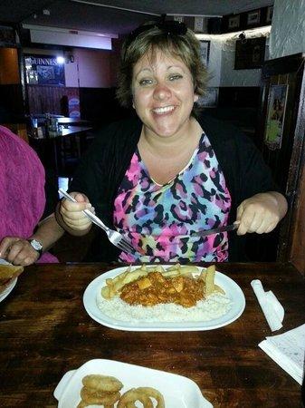 The Drunken Duck : The Chicken Curry Was Fantastic!!