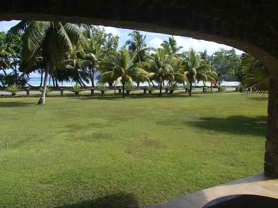 Blue Lagoon Chalets: View from the terrace