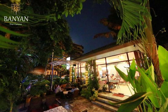 Banyan Thai Cuisine: The atmosphere