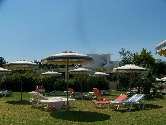 Evi Hotel Rhodes: ogród