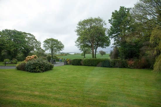 Loch Lein Country House: View from our window