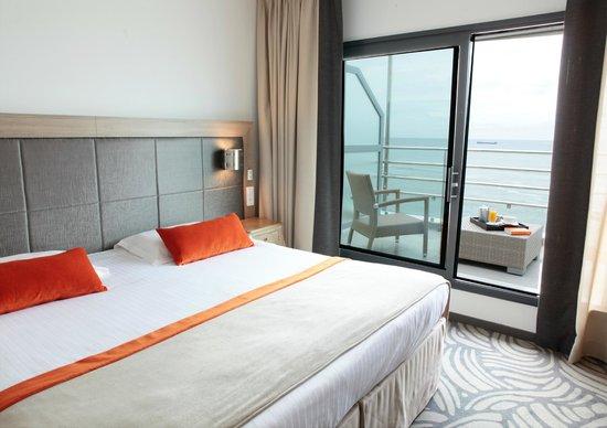 Atlantic Hotel & Spa : Chambre Supérieure Vue sur Mer avec terrasse- 6ème étage