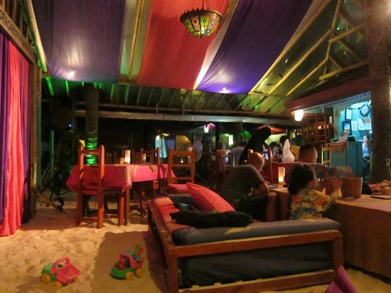 Kasbah: Pic taken from sofa section