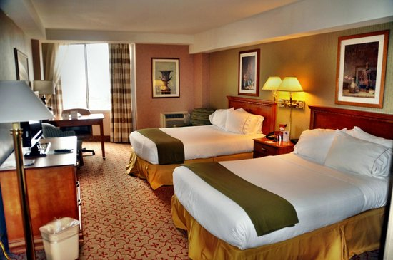 Holiday Inn Express Philadelphia-Midtown: unser Zimmer