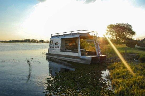 Chobe River Camp: The overnight camper