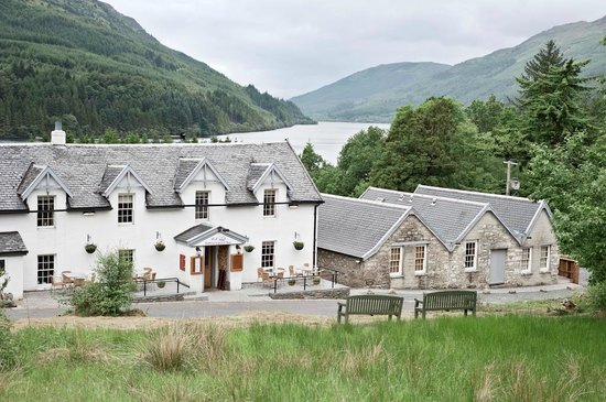 The Inn and Loch Eck