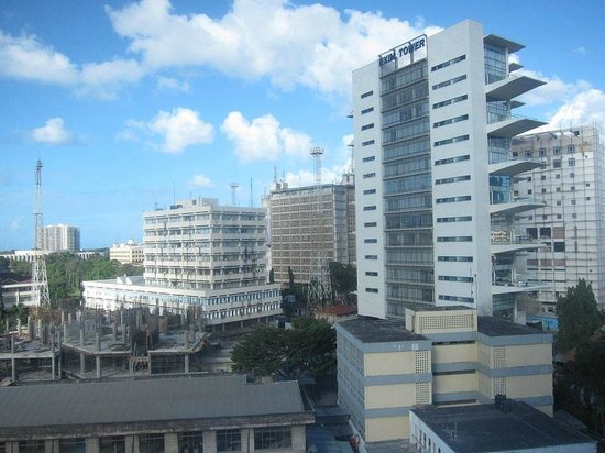 Holiday Inn Dar Es Salaam City Centre : View from 6th Floor