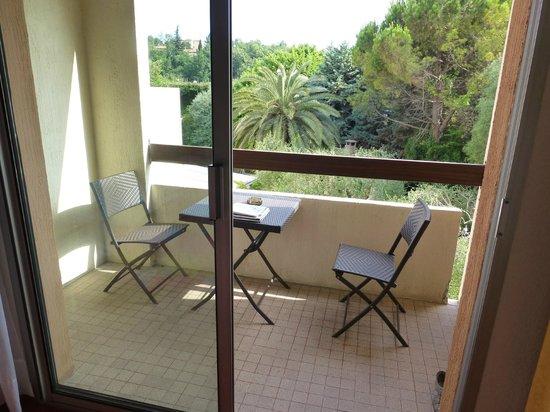 Hotel Le Floreal : balkon