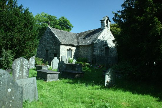 The Courthouse (Henllys) : St Michael's church close to the Courthouse