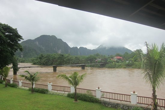 Riverside Boutique Resort: View of River