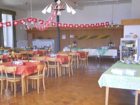 sbt Gaestehaus Beatenberg : Speisesaal