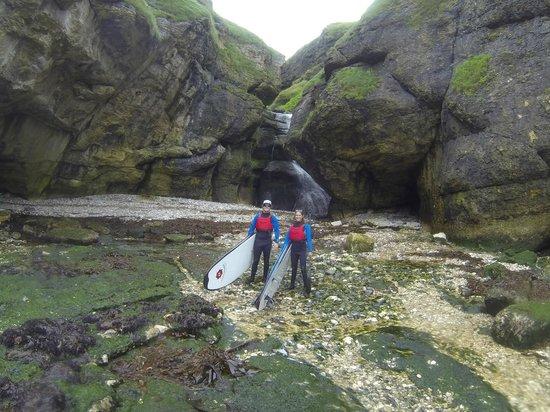 Surf Sup NI: Hidden waterfall