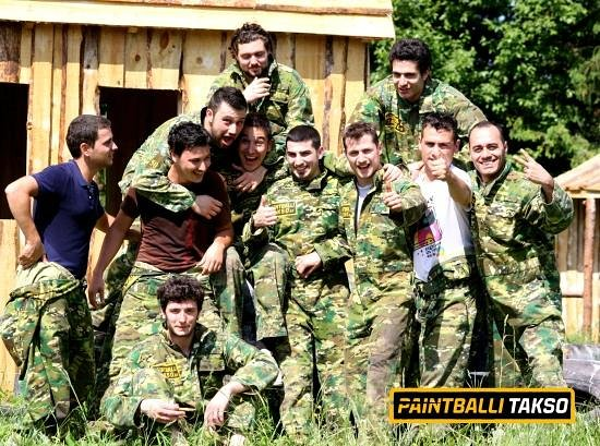 Paintballitakso: We thank are customers for good fun and emotions!