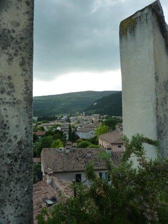 Azienda Agricola Corteforte: Blick von der Dachterrasse