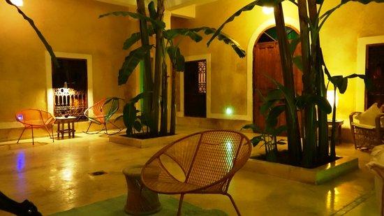 Chambres d'amis : De patio, begane grond, van de Riad